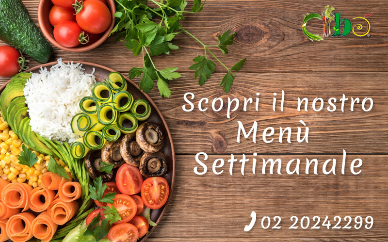 Popup menu settimanale